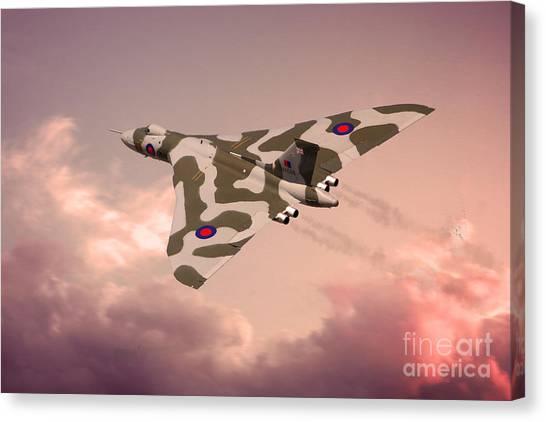 Vulcans Canvas Print - The Pink Lady by J Biggadike