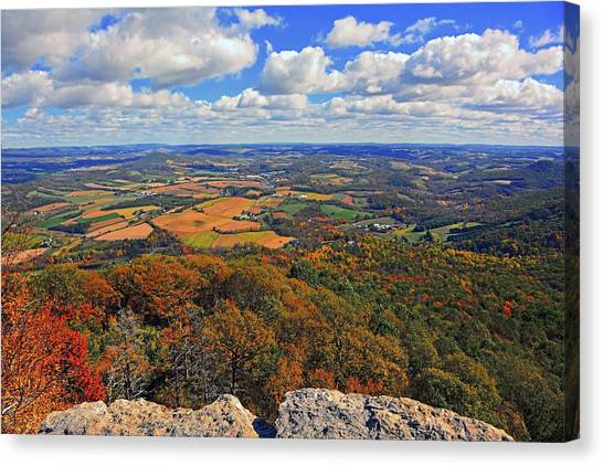 The Pinnacle On Pa At Canvas Print