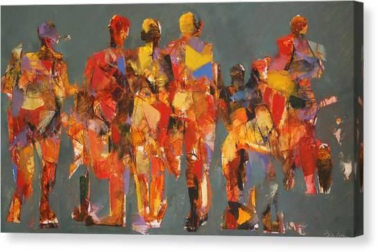 The Players Canvas Print by Dan  Boylan