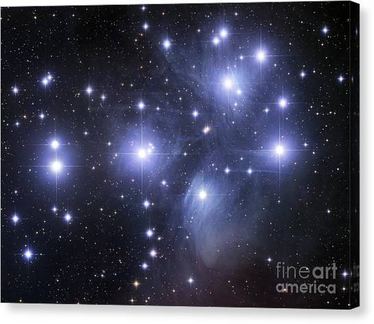 Constellations Canvas Print - The Pleiades by Robert Gendler