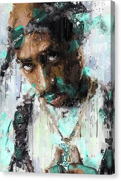 Mike Tyson Canvas Print - The Poet by Fernwood Grove