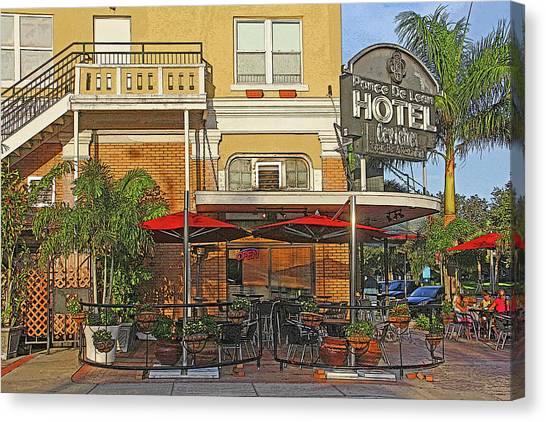 The Ponce De Leon Hotel Canvas Print