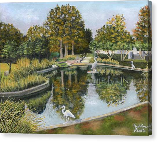 The Pond At Maple Grove Canvas Print