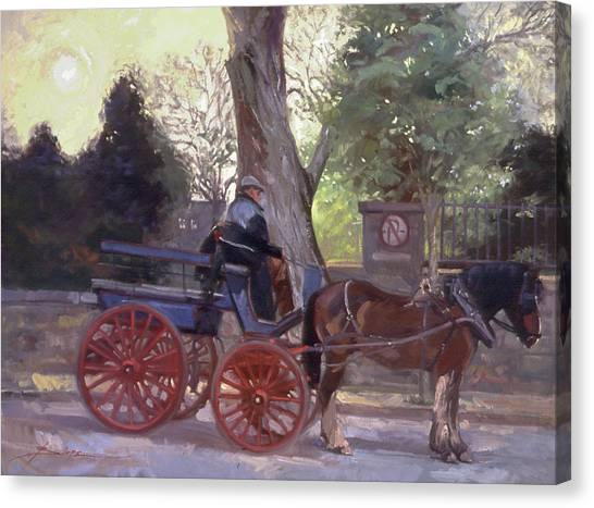 The Pony Trappe Canvas Print