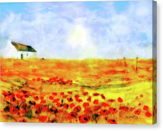 The Poppy Picker Canvas Print