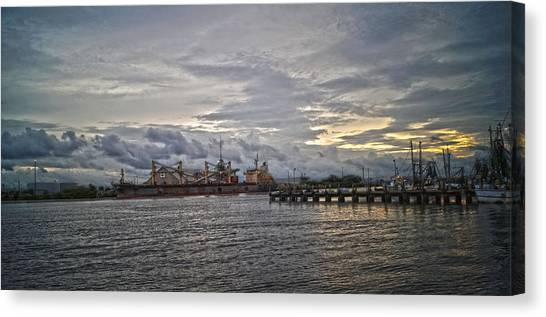 The Port Canvas Print by Chauncy Holmes
