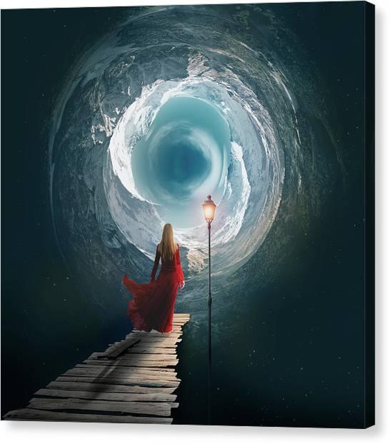 Escape Canvas Print - The Portal  by Aged Pixel