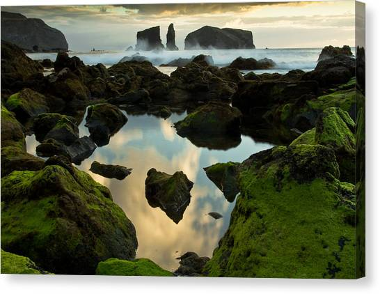 Atlantic Islands Canvas Print - The Portal by Filipe Lourenco