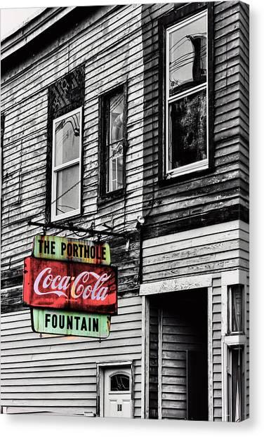 The Porthole Portland Maine Canvas Print