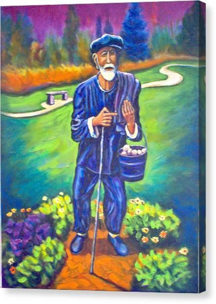 The Potato Man Canvas Print by Steve Lawton