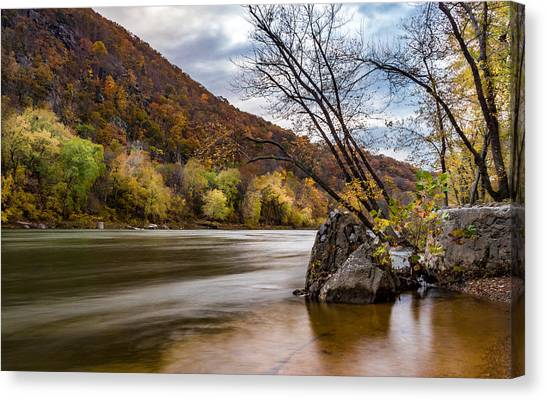 The Shenandoah In Autumn Canvas Print