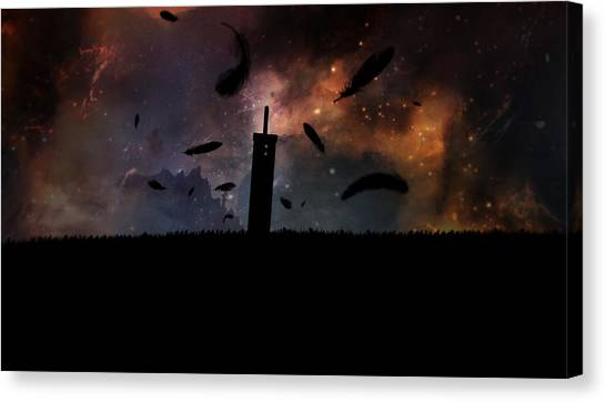 Final Fantasy Canvas Print - The Price Of Freedom by MCAshe