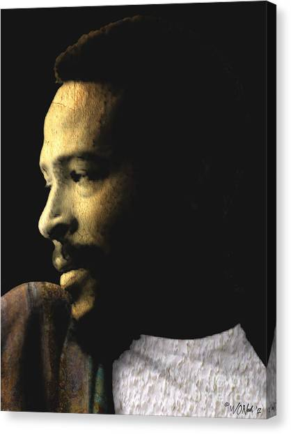 The Prince Of Soul - Marvin Gaye Canvas Print