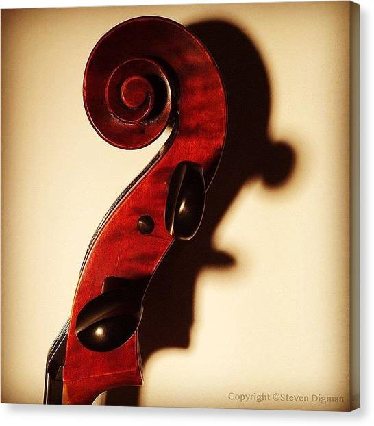 Violins Canvas Print - The Profile  by Steven Digman