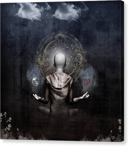 The Projection Canvas Print by Cameron Gray