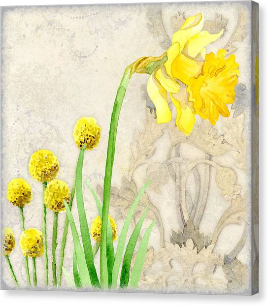 Daffodils Canvas Print - The Promise Of Spring - Daffodil by Audrey Jeanne Roberts