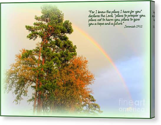 The Promises Of God Canvas Print