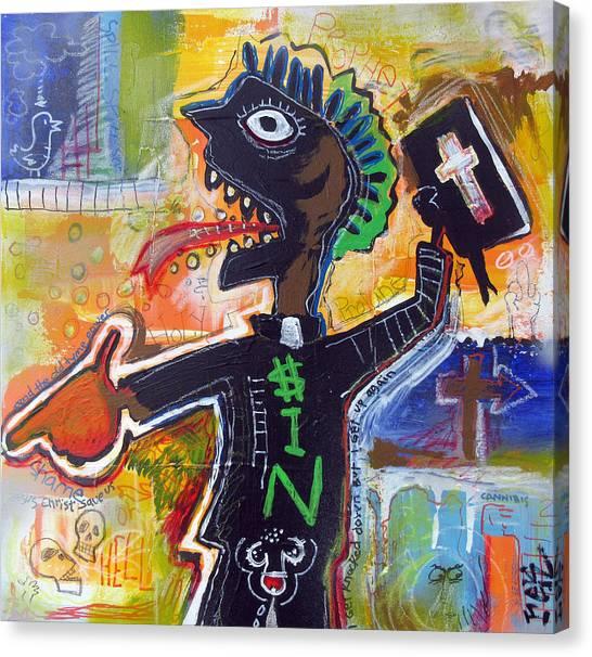 The Prophet Canvas Print