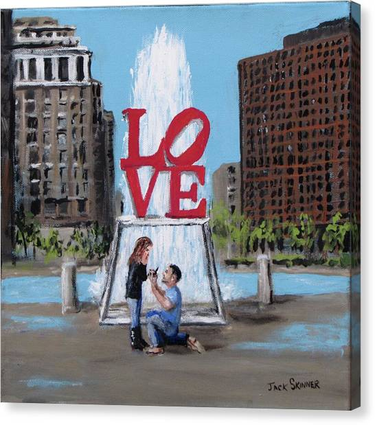 Canvas Print - The Proposal by Jack Skinner