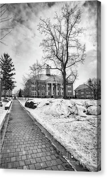 James Madison University Jmu Canvas Print - The Quad  by Cara Walton