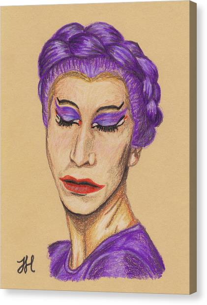 The Queen Canvas Print by Jean Haynes