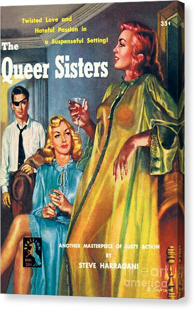 The Queer Sisters Canvas Print