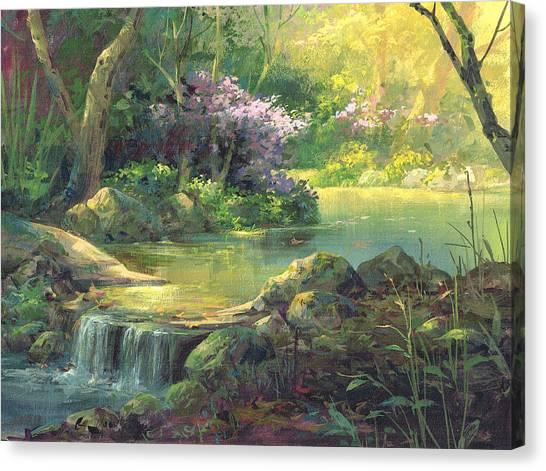 The Quiet Creek Canvas Print