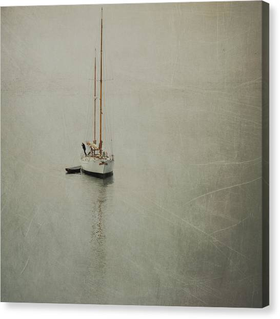 The Quiet Sea Canvas Print