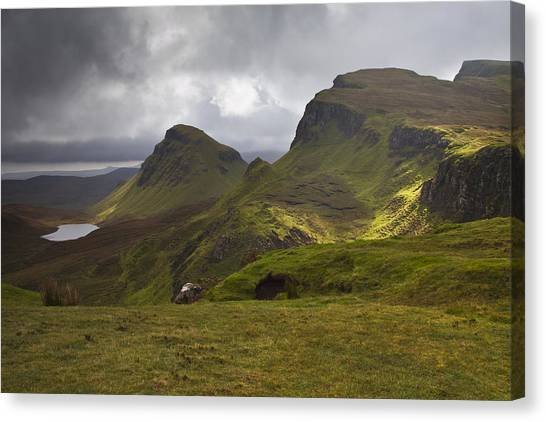 The Quiraing Isle Of Skye Scotland Canvas Print