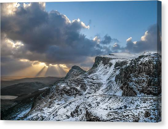 The Quiraing Just After Dawn Canvas Print