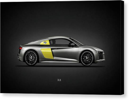 Audi Canvas Print - The R8 by Mark Rogan