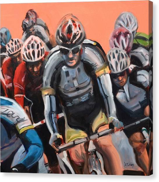 The Race Canvas Print