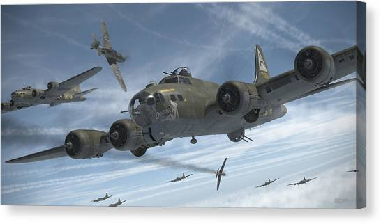 B Canvas Print - The Ragged Irregulars by Robert Perry