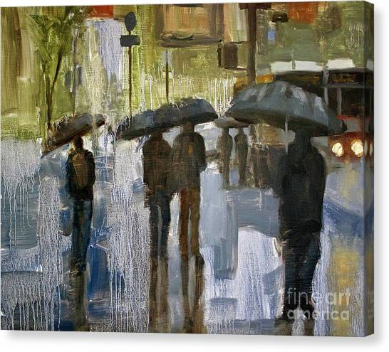 The Rain Came Canvas Print