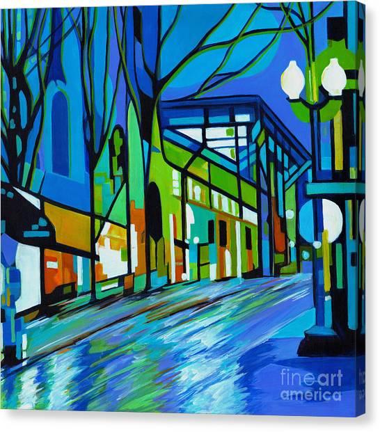 The Rain Song Canvas Print