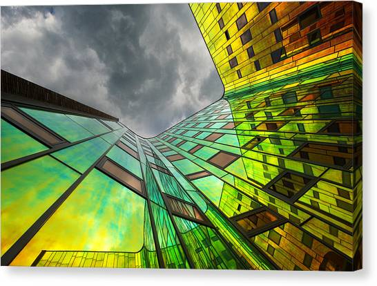 Rainbow Canvas Print - The Rainbow by Gerard Jonkman