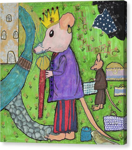 The Rat King Canvas Print