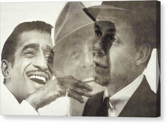 Swing Canvas Print - The Rat Pack by Paul Lovering