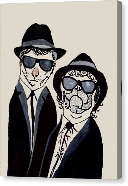 The Real Blues Brothers Canvas Print