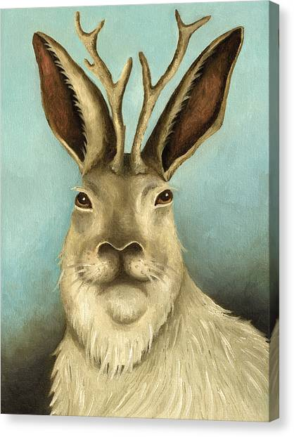 The Real Jackalope Canvas Print
