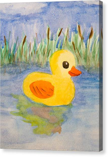 The Real Rubber Duck Painting by Paul Bartoszek