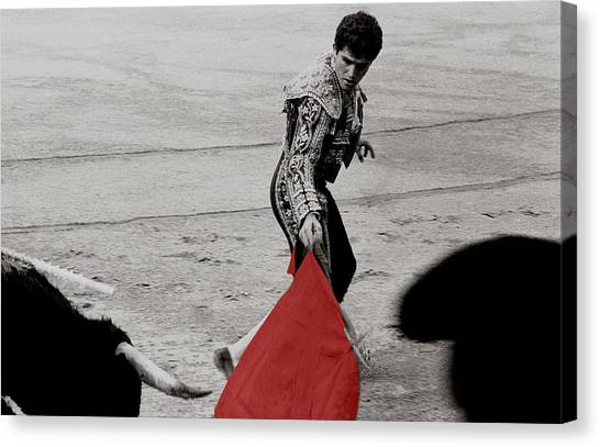 The Red Cape Canvas Print