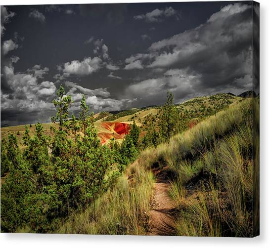 The Red Hill Canvas Print