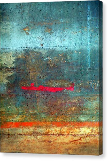The Red Line Canvas Print
