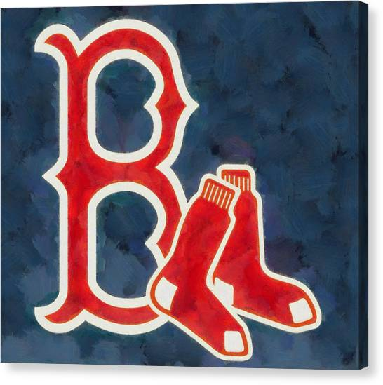 The Red Sox Canvas Print - The Red Sox by Dan Sproul