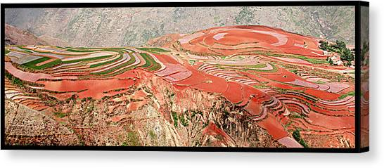 The Redlands, Yunnan, China Canvas Print