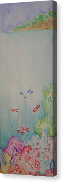 The Reef Canvas Print by Donielle Boal