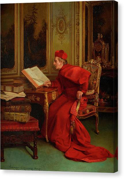 Reference Canvas Print - The Reference by Georges Croegaert