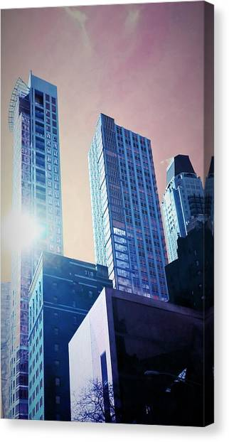 Bladerunner Canvas Print - The Reflecting Hope by George Bowles