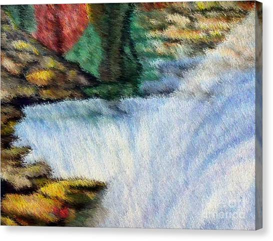 The Refreshing Se3 Canvas Print by Brenda L Spencer